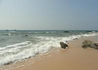Вот такие пустынные пляжи в Муйне в октябре