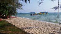 Камбоджа, пляж Отрес в Сиануквиле
