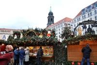 Даже днём ярмарки Дрездена имеют особый шарм