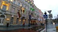 В марте в Вильнюсе дождливо