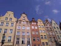 Яркие дома Гданьска
