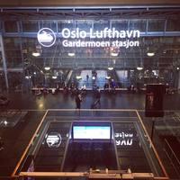 Аэропорт в Осло Гардэмуэн
