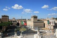 Жаркий Рим в августе