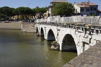 Римини: знаменитый мост Тиберия