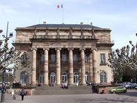 Городская площадь в Страсбурге