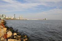 Каспийское море в феврале