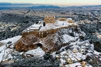 Афины в январе