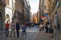 Стокгольм: я прогуливаюсь по столичным улочкам