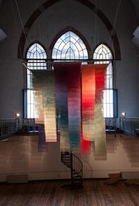 Цвет — это содержание: в итальянском храме появилась интересная градиент-инсталляция