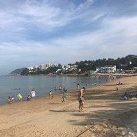 Пляж Stanley в октябре, Гонконг