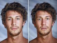 Обнаженные лица: фотограф снял людей одетыми и голыми, а затем сравнил их лица