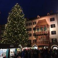 Рождественский базар в Инсбруке