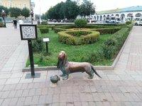 Памятник Бобке в Костроме