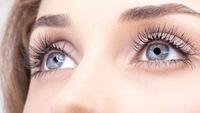 Глаза серого цвета