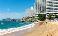 Пляж в Акапулько