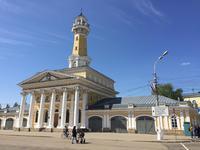 Каланча и музей пожарного дела в Костроме, май 2018