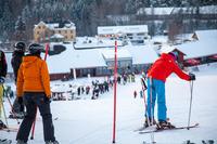 Горные лыжи в апреле