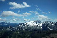 Вид на гора издалека