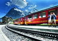 Поезд до горы Айгер