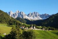 Поселение в Доломитовых Альпах