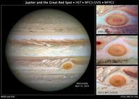 Глаз Юпитера: что скрывается за красным пятном на поверхности гигантской планеты