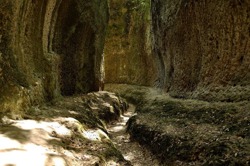 Старинные дороги Италии, которые были созданы еще до древних римлян