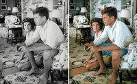 Художник раскрашивает старые фотографии, чтобы оживить исторических личностей